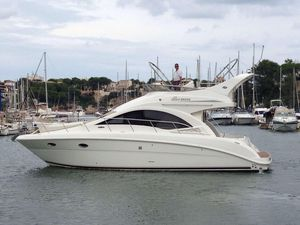 Used Sea Ray 375 Sedan Bridge Flybridge Boat For Sale