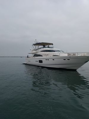 Used Fairline Squadron 78 Custom Motor Yacht For Sale