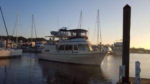 Used Fu Hwa 42 Trawler Boat For Sale