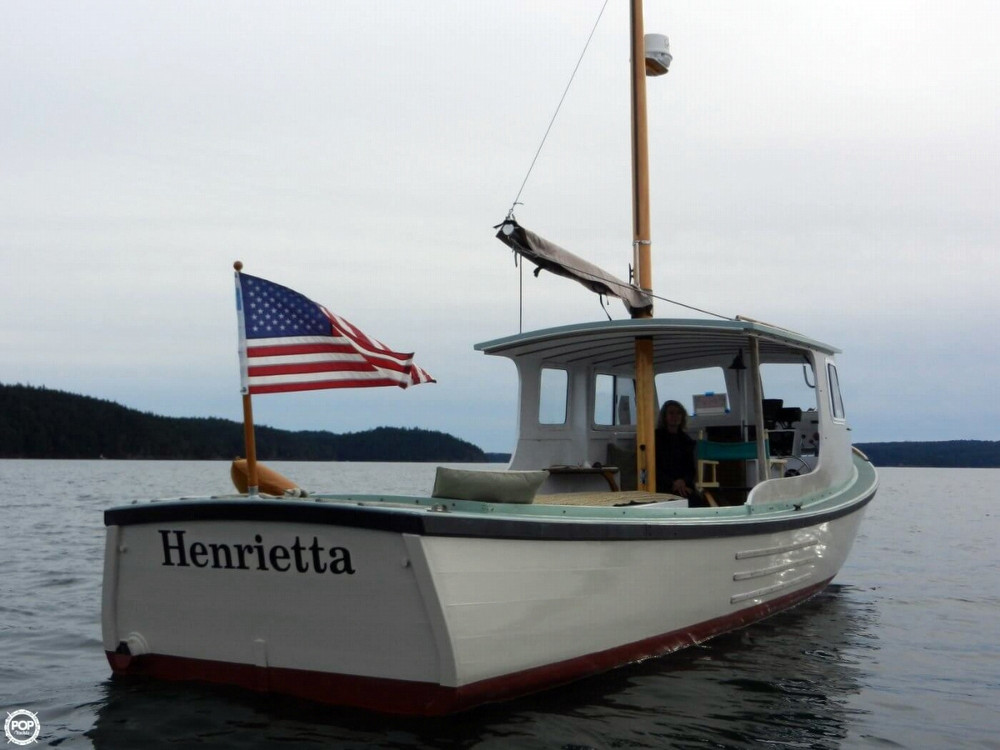 1942 Used Custom 29 Lobster Boat Fishing For Sale