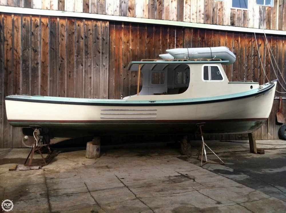 1942 used custom 29 lobster boat fishing for sale for Fishing boats for sale by owner