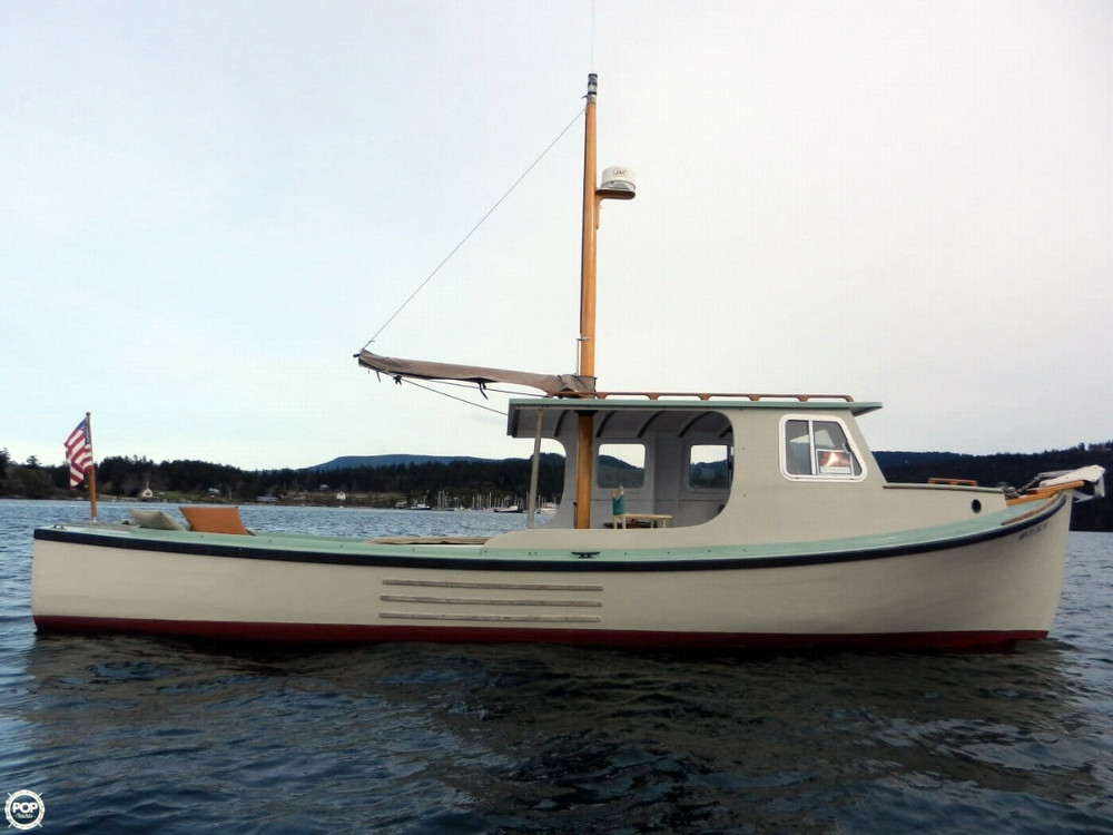1942 used custom 29 lobster boat fishing for sale for Used fishing boats