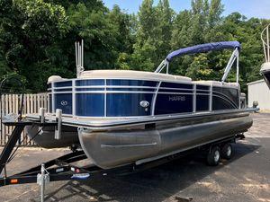 Used Harris 220 Cruiser SL220 Cruiser SL Pontoon Boat For Sale