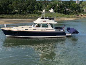 Used Sabre 48 Flybridge Downeast Fishing Boat For Sale