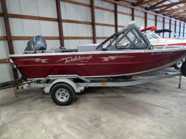 Used Weldcraft Marine 188 Freshwater Fishing Boat For Sale