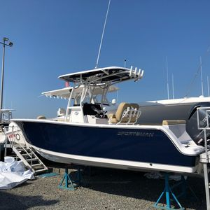 New Sportsman 241 Heritage Center Console Fishing Boat For Sale