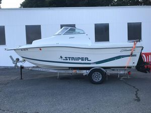Used Seaswirl 2100 WA Cuddy Cabin Boat For Sale