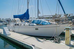 Used Huntingford Sea Maid 45 Cruiser Sailboat For Sale
