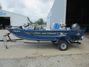 Used Polar Kraft 161161 Freshwater Fishing Boat For Sale