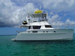 Used Fountaine Pajot Cumberland 46 Power Catamaran Boat For Sale