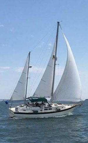 Used Irwin Center Cockpit Ketch Sailboat For Sale