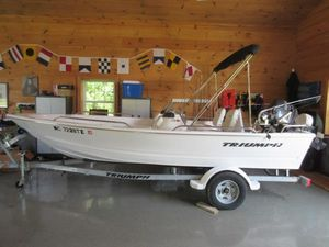 Used Triumph 170 DC Freshwater Fishing Boat For Sale