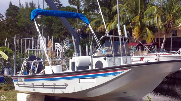 Used Boston Whaler 17 Guardian Center Console Fishing Boat For Sale