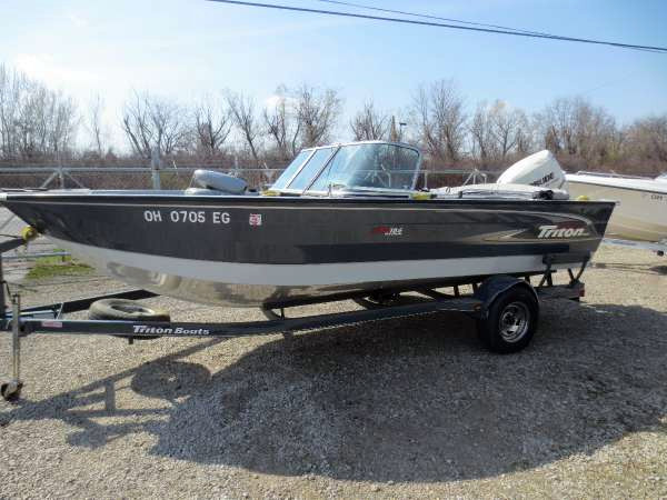 Used Triton Boats 186 DC Bass Boat For Sale