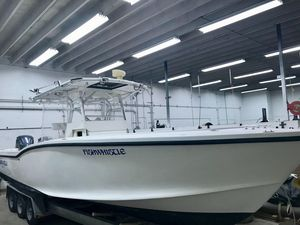 Used Ocean Master 31 CC Upgraded Yamaha 300's Center Console Fishing Boat For Sale