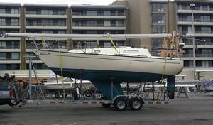 Used Clark SAN JUAN Sloop Daysailer Sailboat For Sale