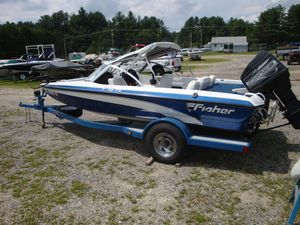 Used Fisher FS18 Fish/SkiFS18 Fish/Ski Freshwater Fishing Boat For Sale
