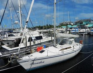 Used Canadian Sailcraft Merlin 36 Racer and Cruiser Sailboat For Sale