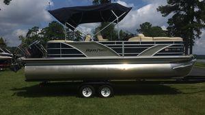 Used Aqua Patio AP2200RLAP2200RL Pontoon Boat For Sale