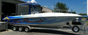 Used Fountain 31 CC (forward Cuddy!) Center Console Fishing Boat For Sale