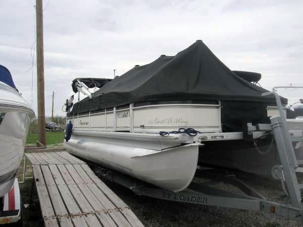 Used Premier Boats 221 Castaway Pontoon Boat For Sale