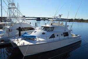 Used Barnett 54 Custom Powercat Power Catamaran Boat For Sale