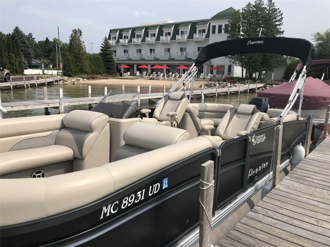 2018 Used Premier 250 Solaris Rf250 Solaris Rf Pontoon Boat For Sale