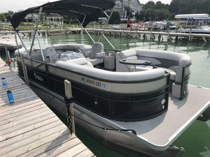 Used Crest II 230 SLCII 230 SLC Pontoon Boat For Sale