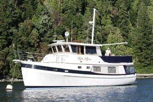 Used Krogen 48 Whaleback Grand Salon Trawler Boat For Sale