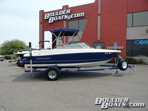 Used Monterey 194 FS194 FS Bowrider Boat For Sale