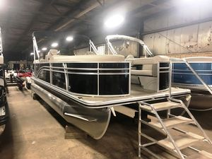 New Harris Flotebote 220cx/cwdh Pontoon Boat For Sale