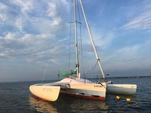 Used Corsair Sprint 750 - 91 Trimaran Sailboat For Sale