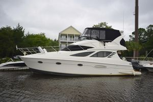 Used Silverton 38 Sport Bridge Cruiser Boat For Sale