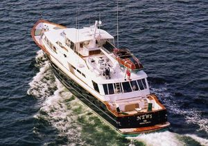 Used Denison Raised Bridge Cockpit Motor Yacht Motor Yacht For Sale