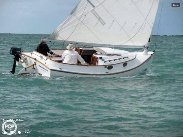 Used Marshall 18 Sanderling Cat Boat Cruiser Sailboat For Sale
