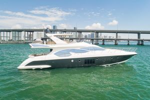 Used Azimut 70 Flybridge Trade In Motor Yacht For Sale