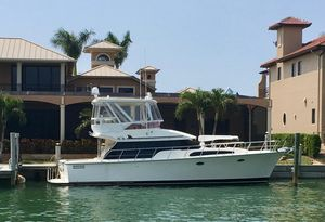 Used Mikelson 43 Sportfisher Saltwater Fishing Boat For Sale
