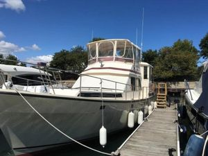 Used President 43 Double Cabin Trawler Boat For Sale
