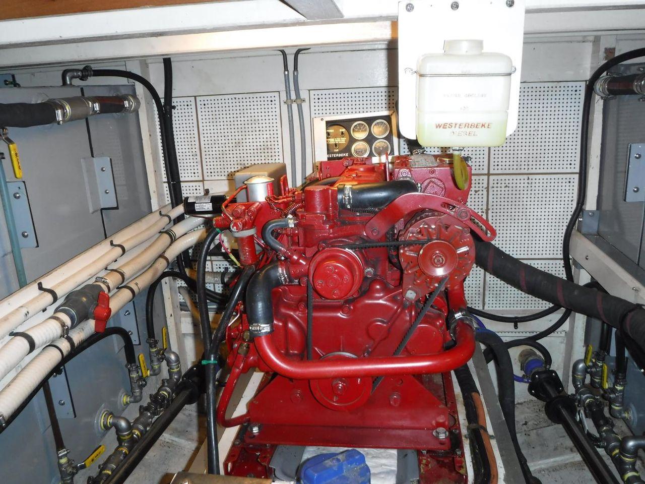 1984 Used Grand Banks 42 Classic Trawler Boat For Sale 159900 Lehman 12 Volt Motor Wiring Diagram