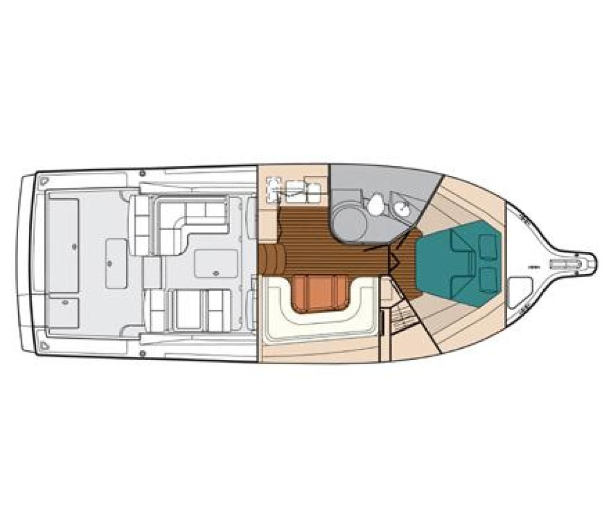 Tiara Boat Wiring Diagram Schematics 2005 Used 3800 Open Express Cruiser For Sale 309900 Key West