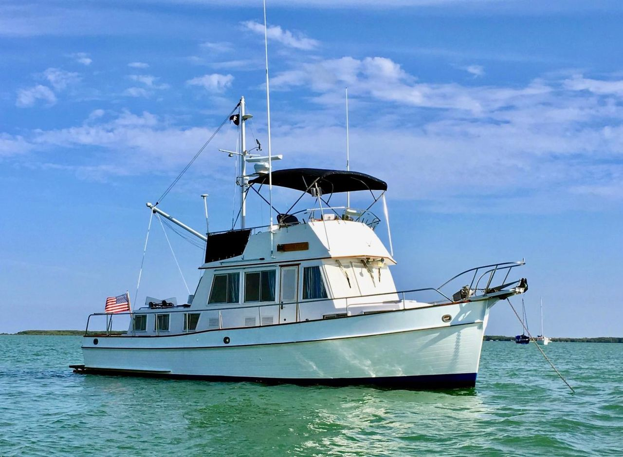 Banks For Sale >> 1989 Used Grand Banks 36 Classic Trawler Boat For Sale