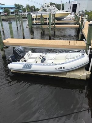Used Inflatable 13' Inflatable Boat For Sale