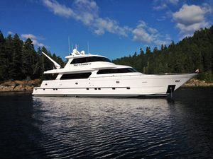 Used Horizon Skylounge Cockpit Motor Yacht Motor Yacht For Sale