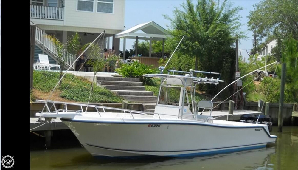 1996 used mako 282 offshore center console fishing boat for Offshore fishing boats for sale