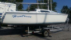 Used Hunter 23 Daysailer Sailboat For Sale