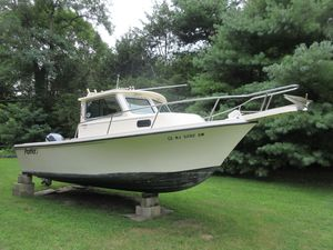 Used Parker 2120 Sport Cabin Cruiser Boat For Sale
