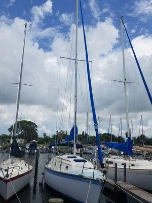 Used Hunter 30 Cherubini Racer and Cruiser Sailboat For Sale