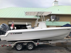 Used Contender 22 Sport Center Console Fishing Boat For Sale