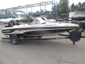 Used Nitro 188 Sport188 Sport Ski and Fish Boat For Sale