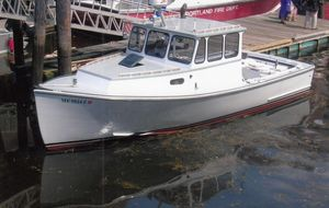 Used Crowley-Beal Hardtop Cruiser Downeast Fishing Boat For Sale